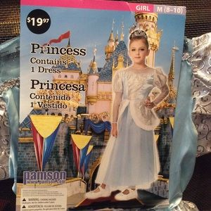 NWT Princess Costume Size Med 8-10